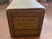 Aeolian Pipe-Organ Player Piano Roll 51138 Grand Toccata in F, Bach