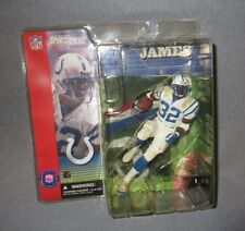 NEW NIP MC FARLANE TOYS COLTS EDGERRIN JAMES FIGURE WITH FIELD BASE 2001*