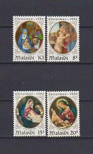 s16519) MALAWI MNH** 1985 Christmas paintings 4v