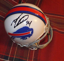 MARIO WILLIAMS Bills Autographed Mini Helmet including BDS COA #2453