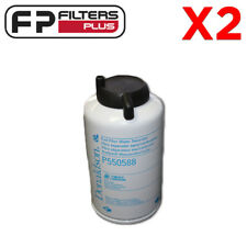 2 x P550588 Fuel Filters for Donaldson P902976 Fuel / Water Separator Kit