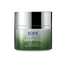 IOPE Agave Fructan Live Lift Deep Moisturizing Smoothing Firming Cream 50ml