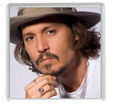 Johnny Depp Set Of 4 Drinks Coasters