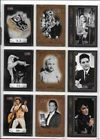 """Elvis """" By The Numbers """" Complete 80 Card Set Plus Wrapper Press Pass 2008"""