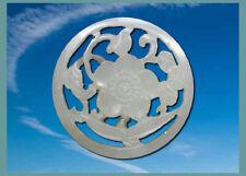 RARE ANCIEN BOUTON de REVERS en PIERRE DURE  -  Ø  24 mm
