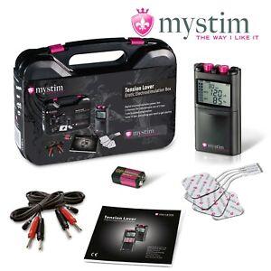 Mystim Tension Lover e-Stim Tens Unit Centralina elettrostimolazione electrosex