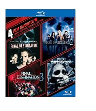 FINAL DESTINATION 1 2 3 & 4 movie pack   -  Blu Ray - Sealed Region free for UK