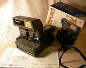 POLAROID 636 ONESTEP CLOSEUP land Camera Instant Film 600 paper BOX Made in UK