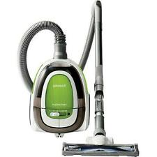 Bissell Hard Floor Expert Canister Vacuum 1154W Silver Green Gray Cleaner Expert