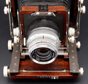 Custom Adapter for Hasselblad V mount lenses on Linhof Technica Board