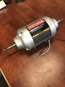 New OEM Part Whole Motor Assembly For Craftsman 21154 1/5HP 6 Inch Bench Grinder