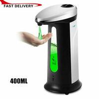 Automatic Liquid Soap Dispenser Touchless IR Sensor Hands Free Bathroom Kitchen