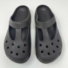 Crocs Women's Gray Candace Clogs Size 8
