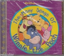 WALT DISNEY/the many canzoni of Winnie the Pooh (NUOVO!)