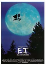 ET film movie advertising Metal Sign Wall Plaque Art Vintage Retro