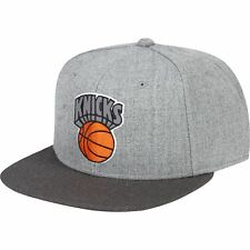 NBA New York Knicks Hardwood Classics Embroidered Logo Snapback Cap Hat Mens