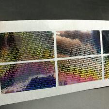100 Security Hologram 40*20mm Tamper Evident Sticker Seals lowest price