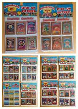 LOT of 10 PACKS: 1985 GPK STICK-ON PICTURES & NAME TAGS (UNOPENED) Imperial Toys