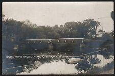 Postcard RPPC North Chesterville Maine ME  Bridge Wilson Stream No 23 1919