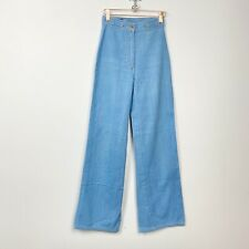 Vtg 70s Foxmoor jeans high rise light wash blue denim 100% cotton Xs / Xxs