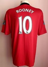 Manchester United 2009 - 2010 Home football shirt #10 Rooney