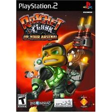 PS2 RATCHET CLANK UP YOUR ARSENAL  Video Game w/ Instructions & Case EUC