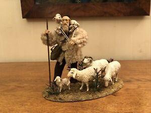 TRAUMHAFT Hirte Schafe Lang sel. Erben  für 20 cm Figuren Krippe Oberammergau