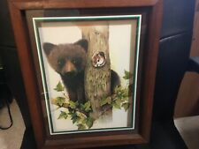 Vintage Home Interior Bear And Squirrel Picture