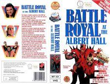 WWF Battle Royal at the Albert Hall London 03.10.1991 ORIG VHS WWE Wrestling