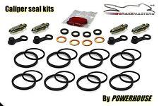 Suzuki RG 500 Gamma Pinza freno anteriore Guarnizione Ricostruzione Kit F G CH