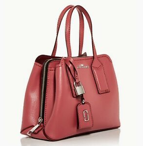 NWT THE MARC JACOBS $425 SANTA FE RED THE EDITOR SATCHEL BAG