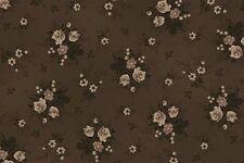 Cottage Shabby Chic Quilt Gate Ruru Bouquet Cotton Fabric Ru2200Y-20F Cocoa Bty