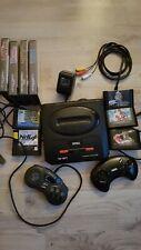 Sega Mega Drive 2 Konsole mit 14 Spielen und 2 Controllern
