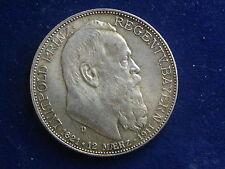 """2 Mark 1911 Bayern Luitpold """" Erhaltung """"  W/17/627"""
