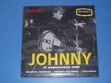 "JOHNNY HALLYDAY E.P "" A L'ALHAMBRA LE 17/09/1960 """