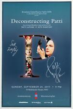 DECONSTRUCTING PATTI 1 Night Only Seth Rudetsky & Patti LuPone Signed Poster