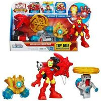 Marvel Avengers Playskool Heroes Action Gear Iron Man Ages 3+ Toy Boys Ironman