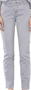 Womens Slim Fit Boyfriend Chinos Trousers Ladies New Cotton Pants all occasions