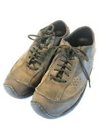 KEEN Dillon Lace-Up Casual Brown Leather Cush Comfort Shoes Sneakers sz 11