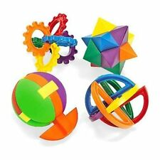 24 - 3-D Plastic Combination Puzzle Balls - Birthday Party Carnival Cube