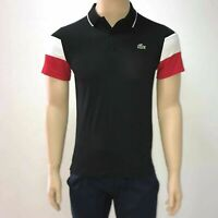 Lacoste Mens Sport Colourblock Sleeves Technical Pique Polo Shirt XS Fr 2