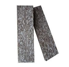 2pcs Knife Handle Scale 3D Damascus Grain Micarta Material Sword Slab120*40*10mm