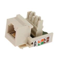 RJ11 Phone Voice Module Keystone Jack Socket Connector Network Tools