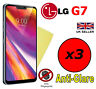 3x HQ MATTE ANTI GLARE SCREEN PROTECTOR COVER SAVER FILM GUARD FOR LG G7 ThinQ