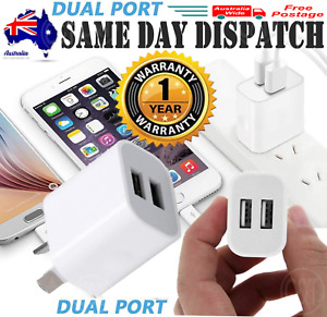 Dual USB Wall Charger Universal Port Wall Home Charger 5V 2A AC Power Adapter