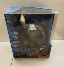 Lord Of The Rings~Electronic Armored Troll ~ NEW ~LOTR Two Towers Toy Biz
