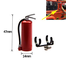 1/10 RC Crawler Accessory Fire Extinguish with Brackets for Axial SCX10 RC4WD