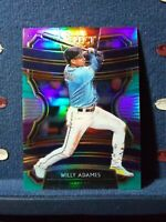 2020 Select Tri-Color Prizms #83 Willy Adames Tampa Bay Rays Baseball Card