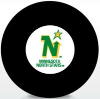 Minnesota North Stars NHL Vintage Team Logo Souvenir Hockey Puck