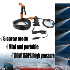 Portable 12V 100W 160 PSI High Pressure Car Electric Washer Auto Wash Pump Sets